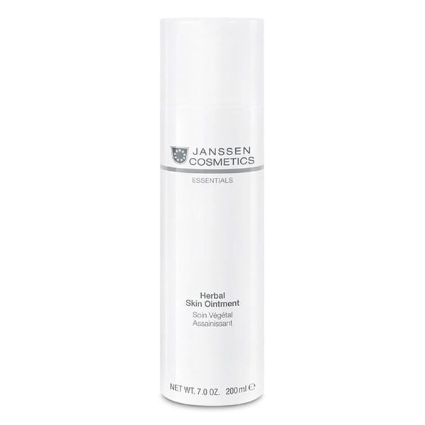 Janssen Cosmetics All Skin Needs Herbal Skin Ointment - Крем регенерирующий, 200мл