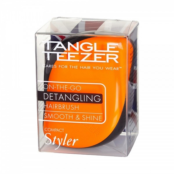 Tangle Teezer Compact Styler Orange Flare - Расческа (оранжевый)