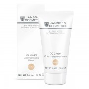 Janssen Cosmetics All Skin Needs CC Cream Color Corrective Cream Medium - Крем тональный SPF 30, 30мл
