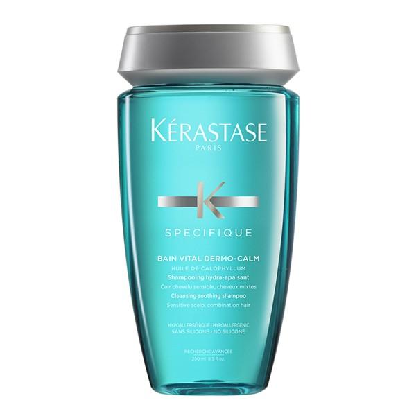 Kerastase Bain Vital Dermo-Calm - Шампунь-ванна для чувствительной кожи головы и нормальных/смешанных волос, 250мл
